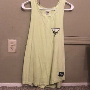 Pink Neon Yellow Muscle Tank